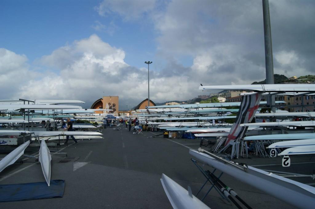Ultima gara dell'anno sul campo di regata di Genova Pra'.