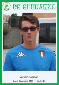 Medaglia d'argento per Alessio Bozzano ai Campionati Europei Under 23